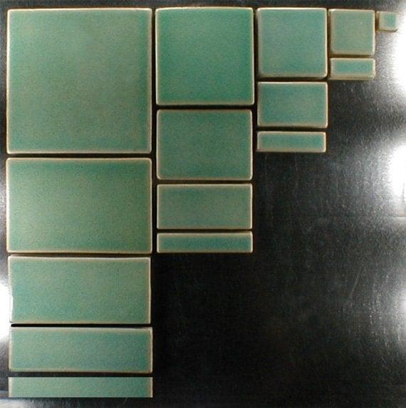 Light Blue Kitchen Wall Tiles: Field Tile 4 X 4 Field Tile Light Blue Crackle Glaze Wall
