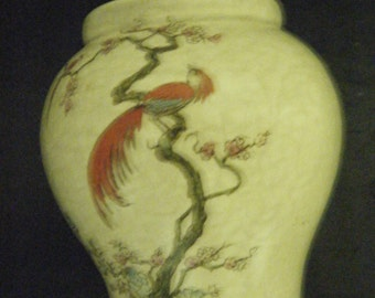 CROWN DEVON Made in England Fieldings numbered 1244.  Fortnum & Mason.  Vase?