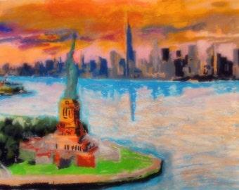 American Artwork Item #1 - NYC Skyline