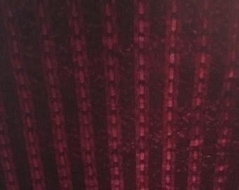 Exquisite Rare length of French antique silk velvet