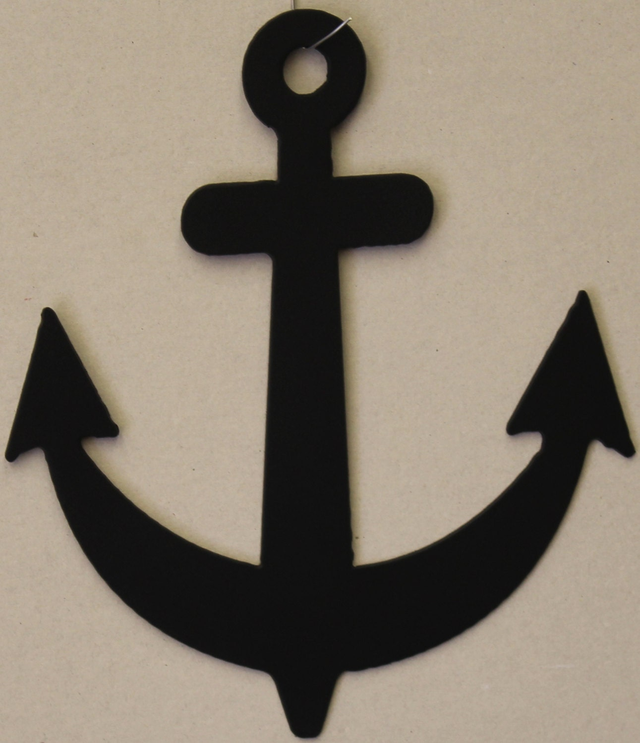 Anchor Metal Wall Art Home Decor