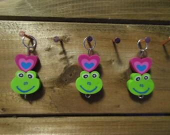 Froggie Stitch Markers