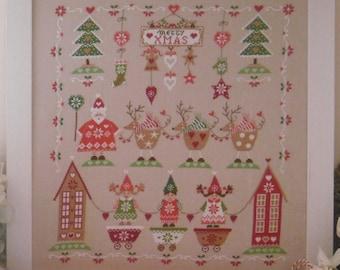 Schema A NORDIC CHRISTMAS (comprendente scritta in inglese, italiano, francese e tedesco)- Formato cartaceo o PDF