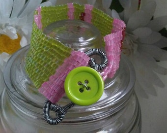 Candy button safety pin