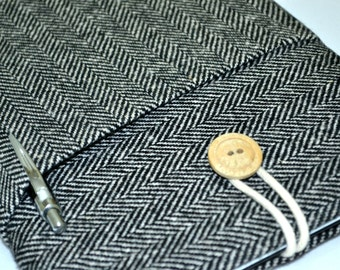 "Kindle paperwhite Cover, Kindle paperwhite case, kindle case, Custom Fit for Any 6""-8"" Tablet- HERRINGBONE"