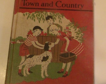 Town and Country-Vntage Reader Book