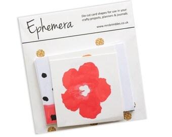 Good Vibes Ephemera / Project life / Planner Card Pack