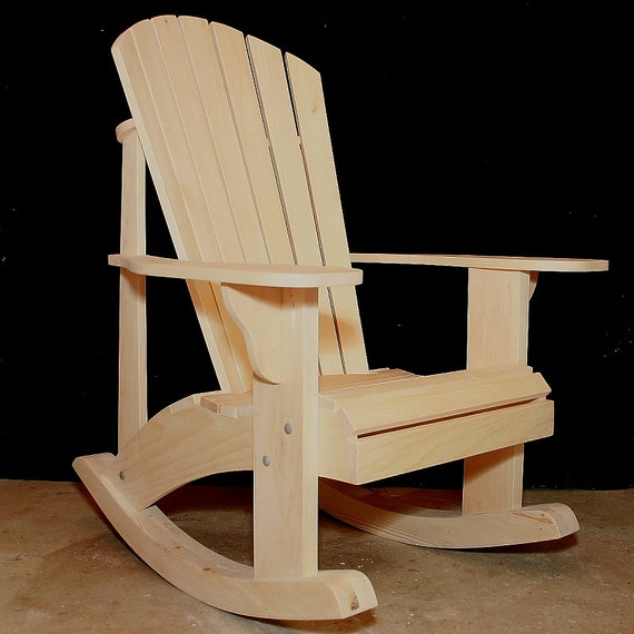 Adirondack rocking chair plans dwg files for cnc machines for Rocking chair design plans