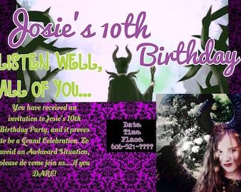 Custom Party invitations - Any Theme!