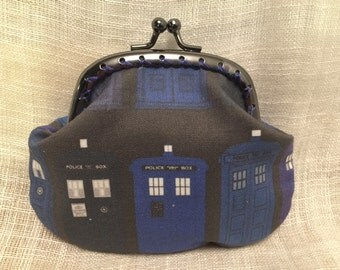 Dr Who Tardis Variations Coin Purse