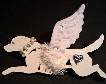 UniQ Labrador Angel ornament !