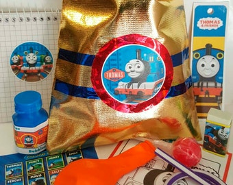 Thomas the Tank Engine  loot/party bag with 10 items inside, great value