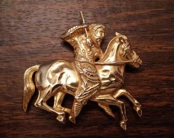 Scythian warrior brooch / pendant