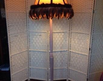 Standard Lamp and Shade
