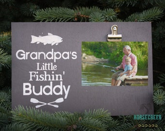 Grandpa Gift- Grandpa Picture Frame- Fishing Gifts