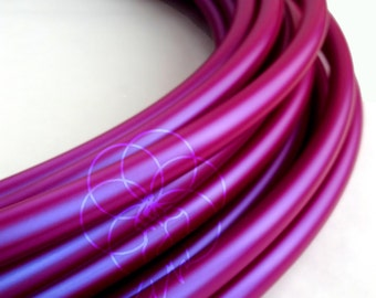 Polypro Hula Hoop 3/4 Color Shifting Blue Plum// Customizable// Light Weight//Trick Hoop//Dance Hoop