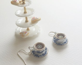Afternoon tea earrings