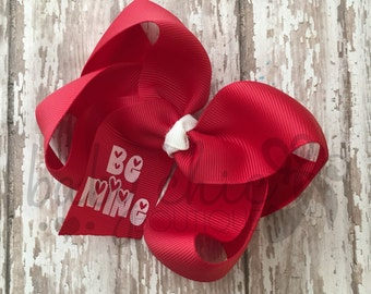 Be Mine Bow (red)