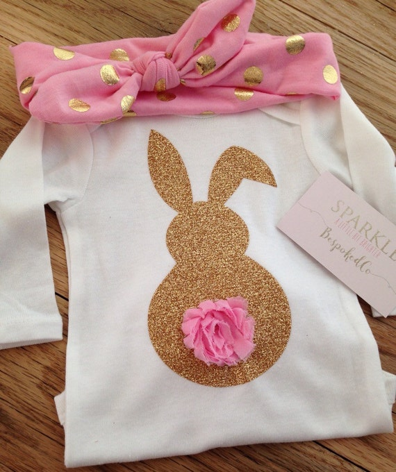 Easter Bunny Shirt Baby Girls Easter Outfit Easter Shirt