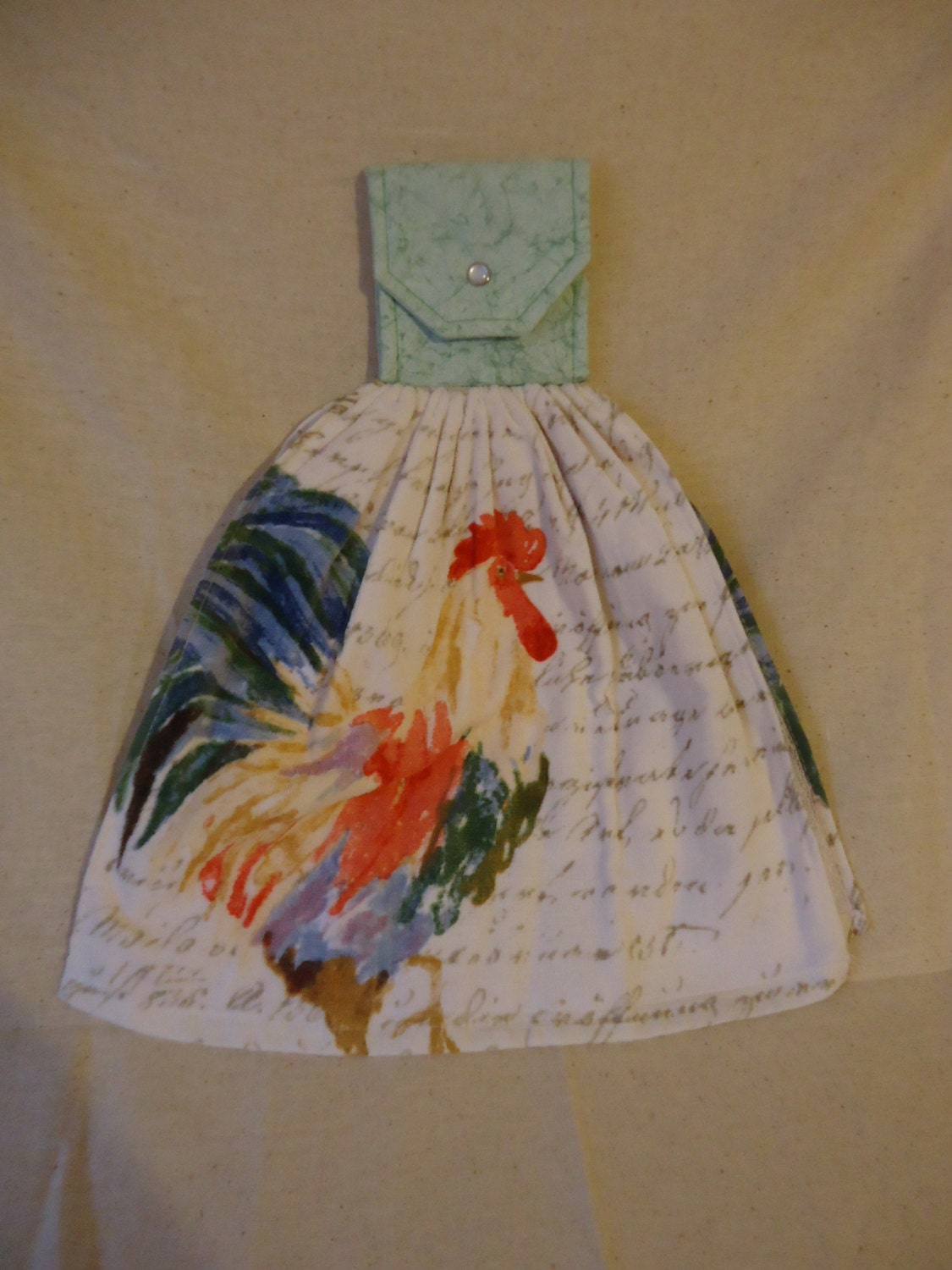 Https Www Etsy Com Listing 270882040 Rooster Kitchen Towel Rooster Decor