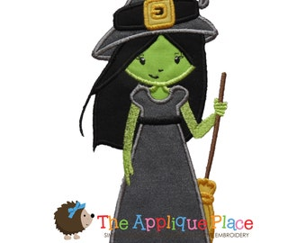 Wicked Witch - Wizard of Oz - Machine Embroidery Applique Design