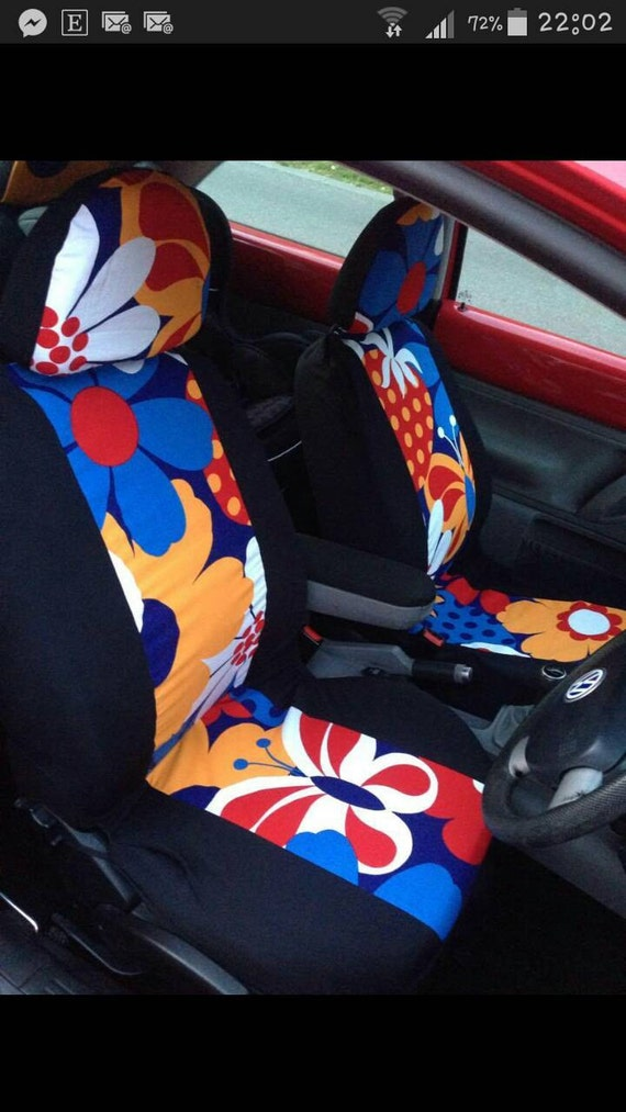 vw beetle car seat covers groovy protective covers for the. Black Bedroom Furniture Sets. Home Design Ideas