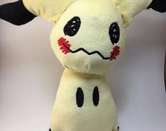 Mimikyu Custom Fanart Plush