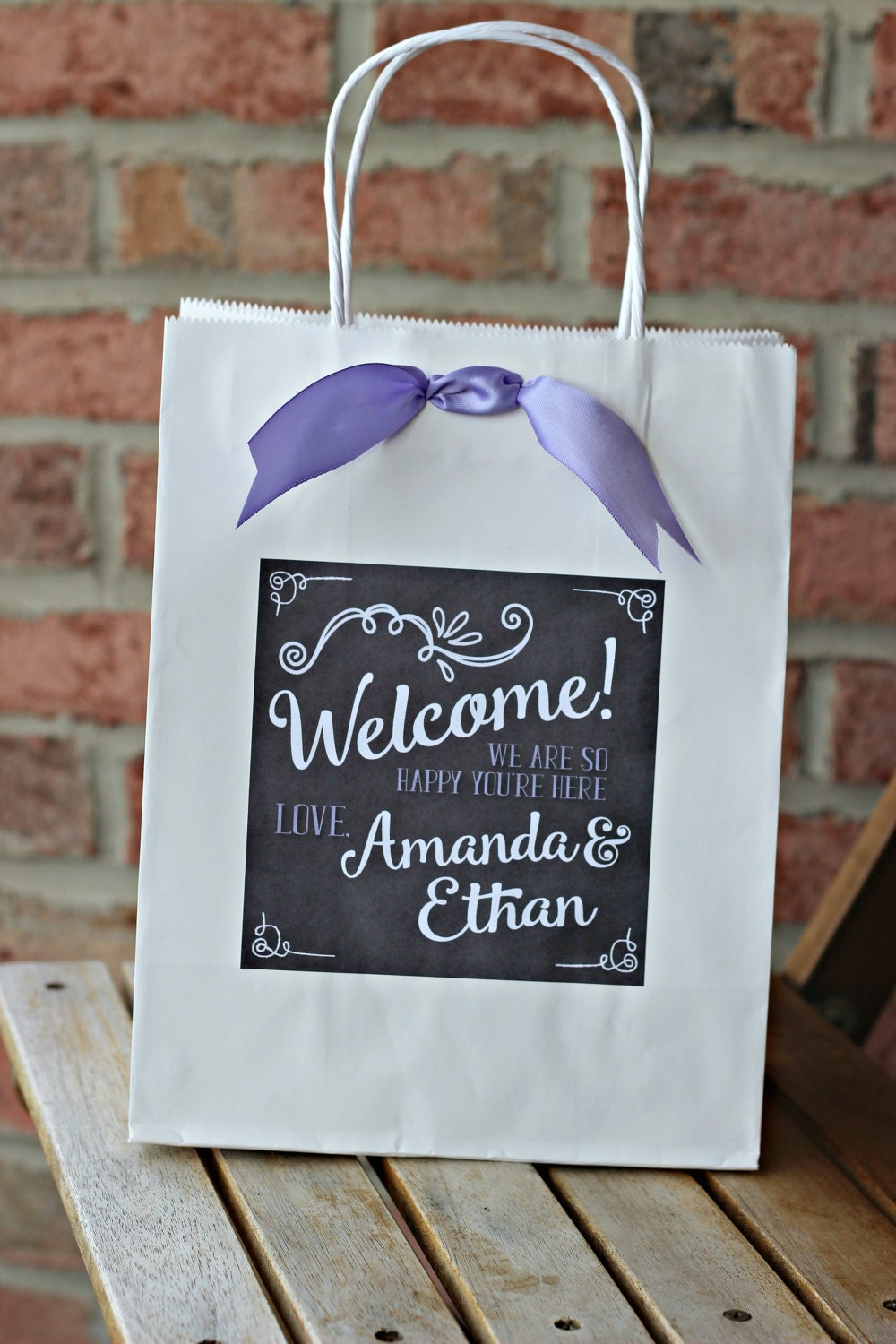 Wedding Labels For Gift Bags