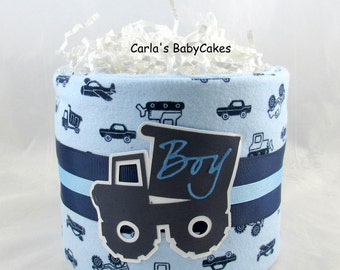 Truck diaper cake | Mini diaper cake | Boy diaper cake | Baby diaper cake | Baby shower gift | Baby shower decoration | New mom gift