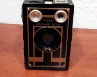 Art Deco Kodak Box Camera