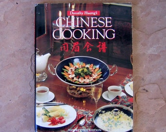 Chinese Cookbook, vintage cookbook, Chinese Cooking Cookbook by Dorothy Huang