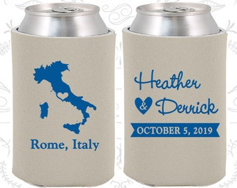 Italy Wedding Gifts, Coolies, Destination Wedding Favors, Italy Favors, Rome Save the Date (181)