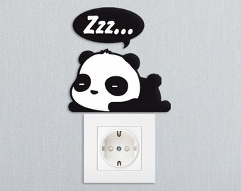 Sleepy Panda / FREE SHIPPING