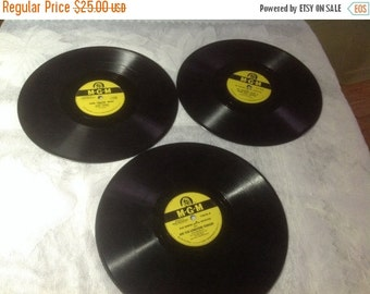 60% Off Sale Three Vintage 78 / 33 RPM MGM Records