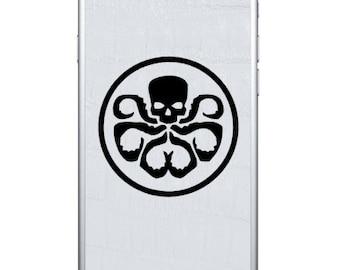 4X Hydra Symbol Iphone Vinyl Decal Stickers