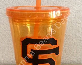 Custom SF Giants Tumbler
