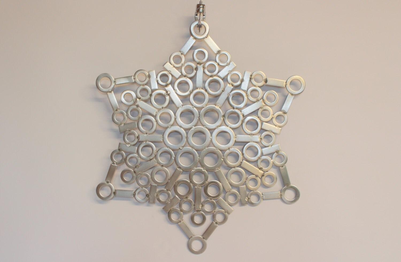 Stainless steel metal wall art sculpture placemat for Stainless steel wall art