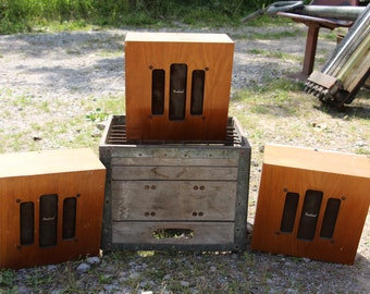Vintage School PA Speakers