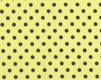 Michael Miller Fabrics - Dumb Dot Apple - CX2490-APPL-D