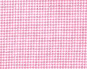 Michael Miller Fabrics - Tiny Gingham Pink - CX4834-PINK-D
