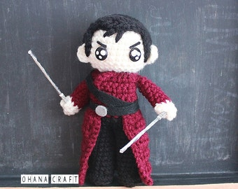 Free Shipping-Sunny-into the badlands  inspired crochet doll -Made to order