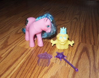 My Little Pony G1 Princess Primrose and Chumster Bushwoolie plus Acccessories  Hasbro Vintage Ponies