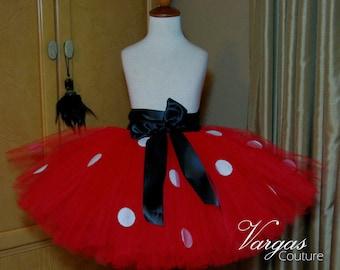 Adult Mini Mouse Tutu Skirt: Mini Mouse Birthday, Womens Tutu Skirt, Teen Tutu Skirt, Prom Tutu, Halloween
