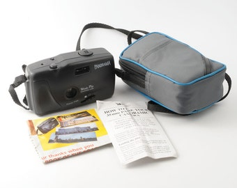 Panorama Wide Pic Point and Shoot 35mm Film Camera Fully Working with Instructions and Soft Case
