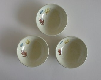 Franciscan Ware, Autumn Berry Bowls, 3.