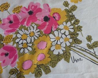 Vintage Vera Tablecloth.