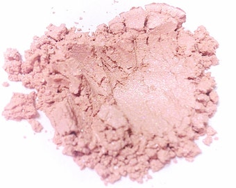 SUGAR RUSH Natural Mineral Blush - Pink Face Highlighter - Gluten Free Vegan Cheeks & Eyes Mineral Makeup