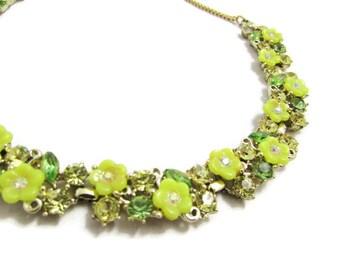 Vintage Sparkly Rhinestone Choker Necklace