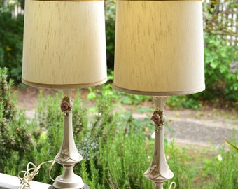 Pair of Lamps, Vintage Table Lamps