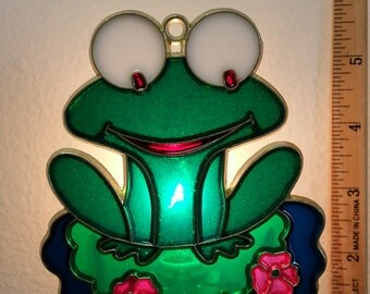 Frog on a Lily Pad Night Light